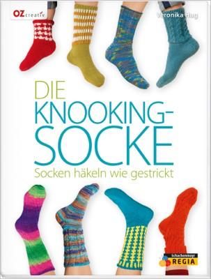 Die Knooking-Socke – Socken häkeln wie gestrickt mit Veronika Hug