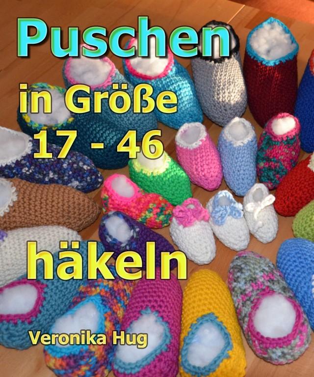 Puschen in Größen 17-46 häkeln Veronika_Hug