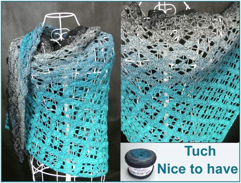 """Tuch """"Nice to have"""" Schriftliche Anleitung:"""