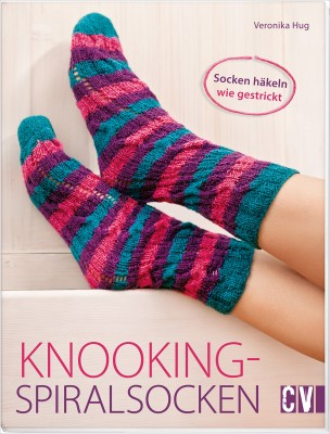 Knooking Spiralsocken–SockenhäkelnwiegestricktmitVeronikaHug