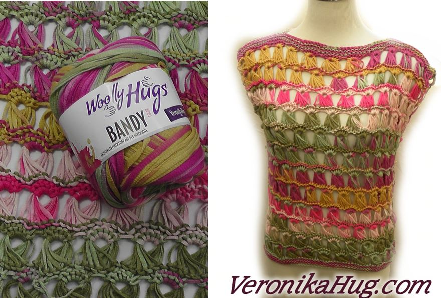 Stricken TopCOMO Woolly Hugs BANDY Veronika Hug
