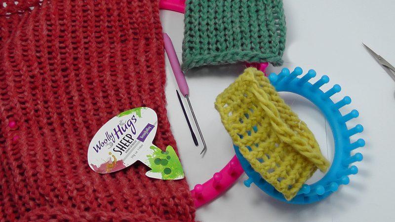 Strickring Loom Knit Woolly Hugs Veronik Hug