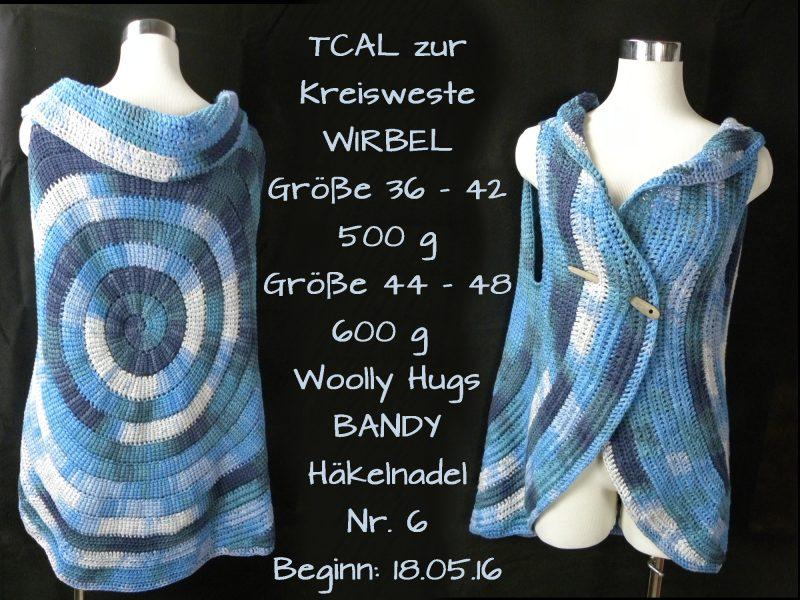 Kreisweste WIRBEL Woolly Hugs BANDY Veronika Hug