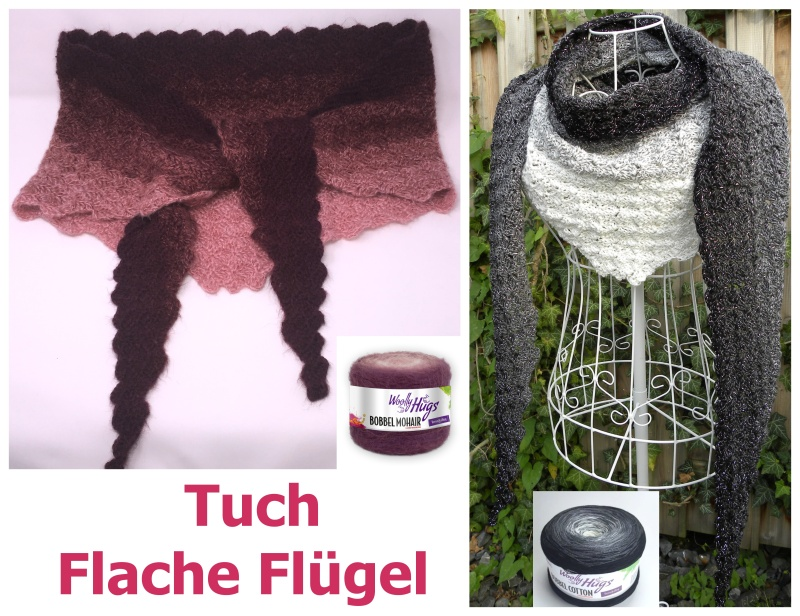 Flache Fluegel Mohair Collage Hp