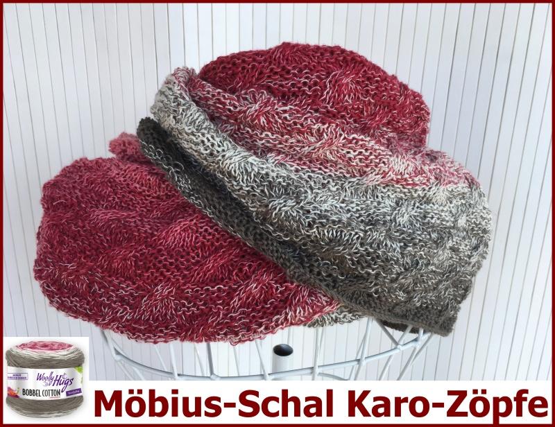 Moebius Schal Karo Zoepfe Hp