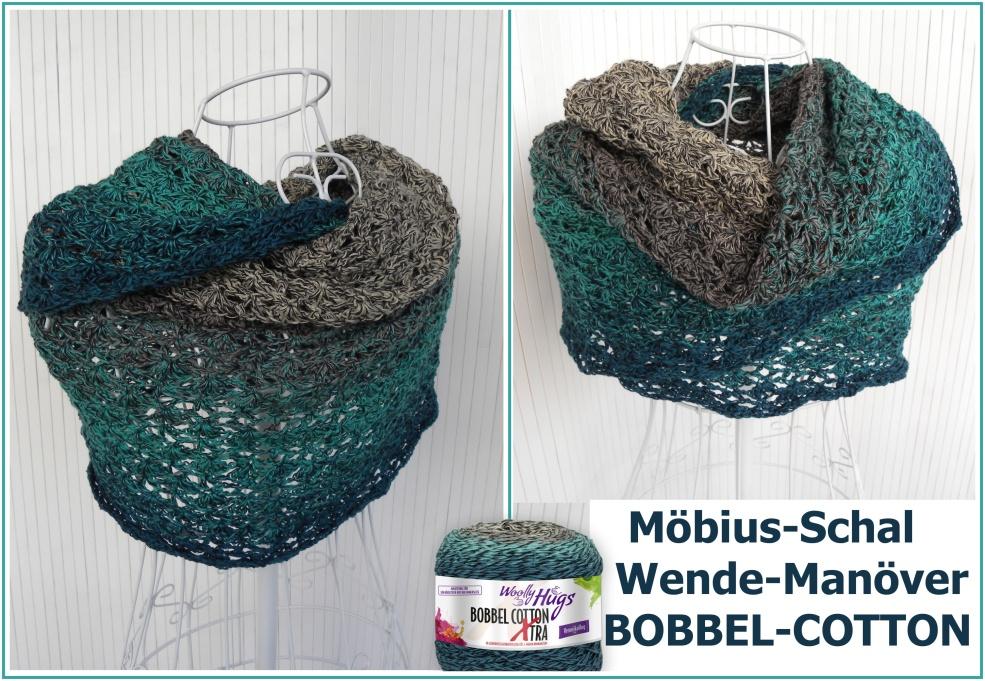 Moebius Schal Wendemanoevern Woolly Hugs