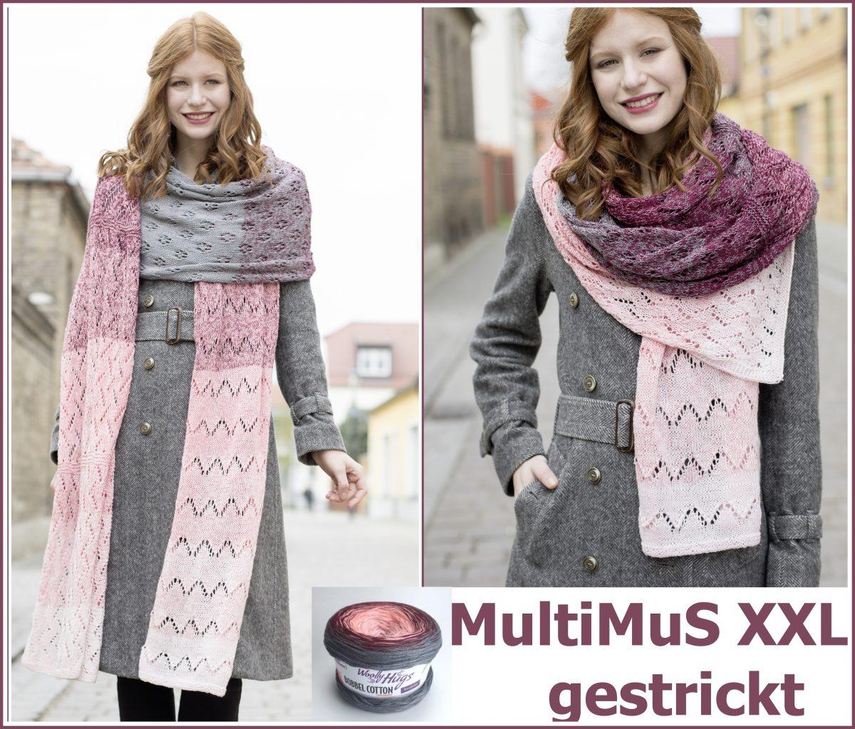 MultiMuS XXL gestrickt Collage e