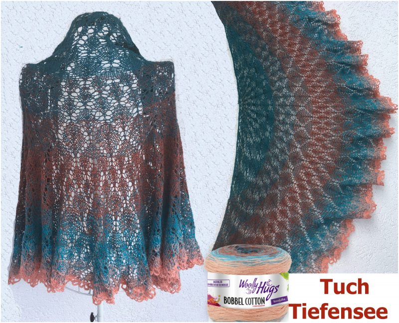 Tuch Tiefensee Bobbel Cotton Collage