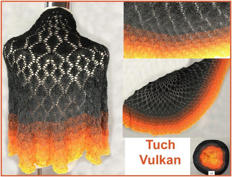 "Tuch ""Vulkan"" Schriftliche Anleitung: https://www.crazypatterns.net/de/store/VeronikaHug"