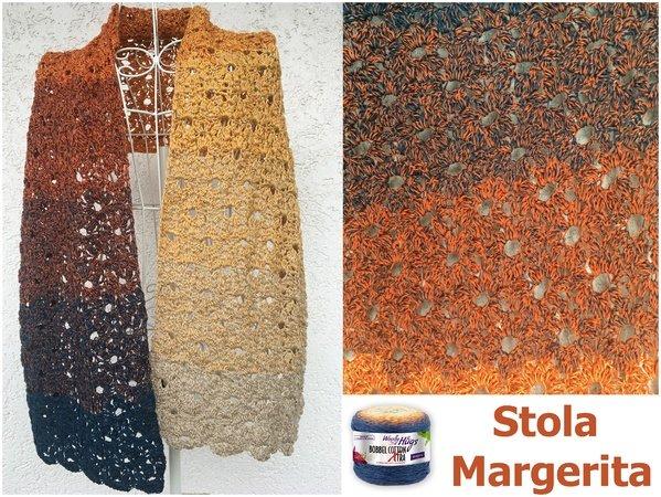 Stola Margerita Mit 1 Bobbel Haekeln 599x450
