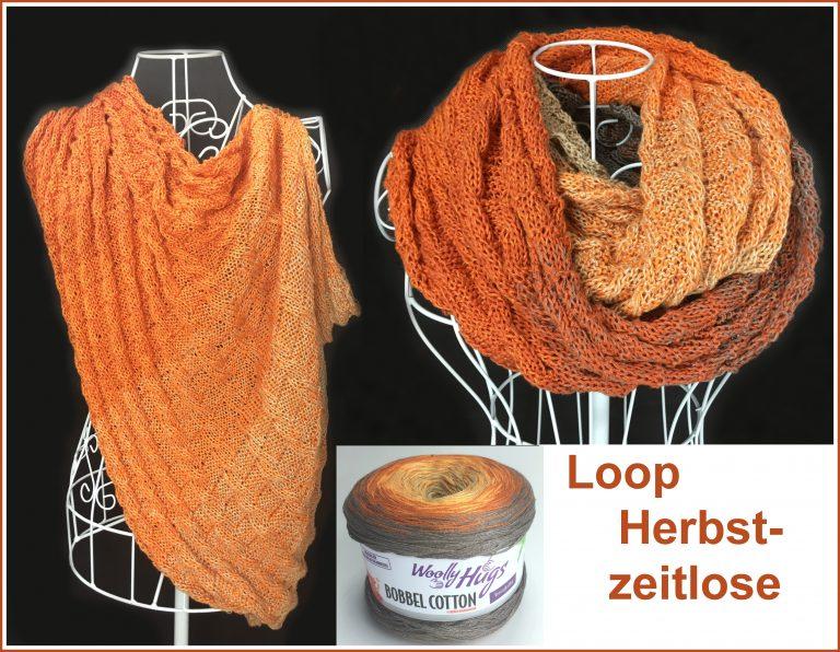 """Loop """"Herbstzeitlose"""" Schriftliche Anleitung: https://www.crazypatterns.net/de/store/VeronikaHug"""