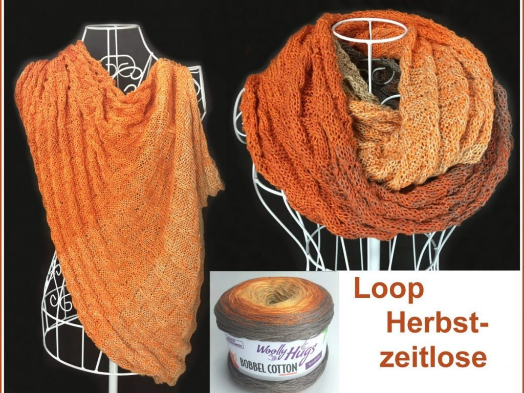 Loop Herbstzeitlose Collage  e