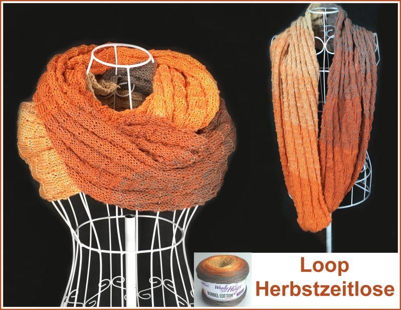 Loop Herbstzeitlose Collage e