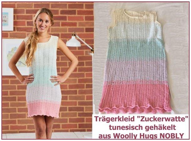 Traegerkleid Zuckerwatte Tunesisch Haekeln 609x450