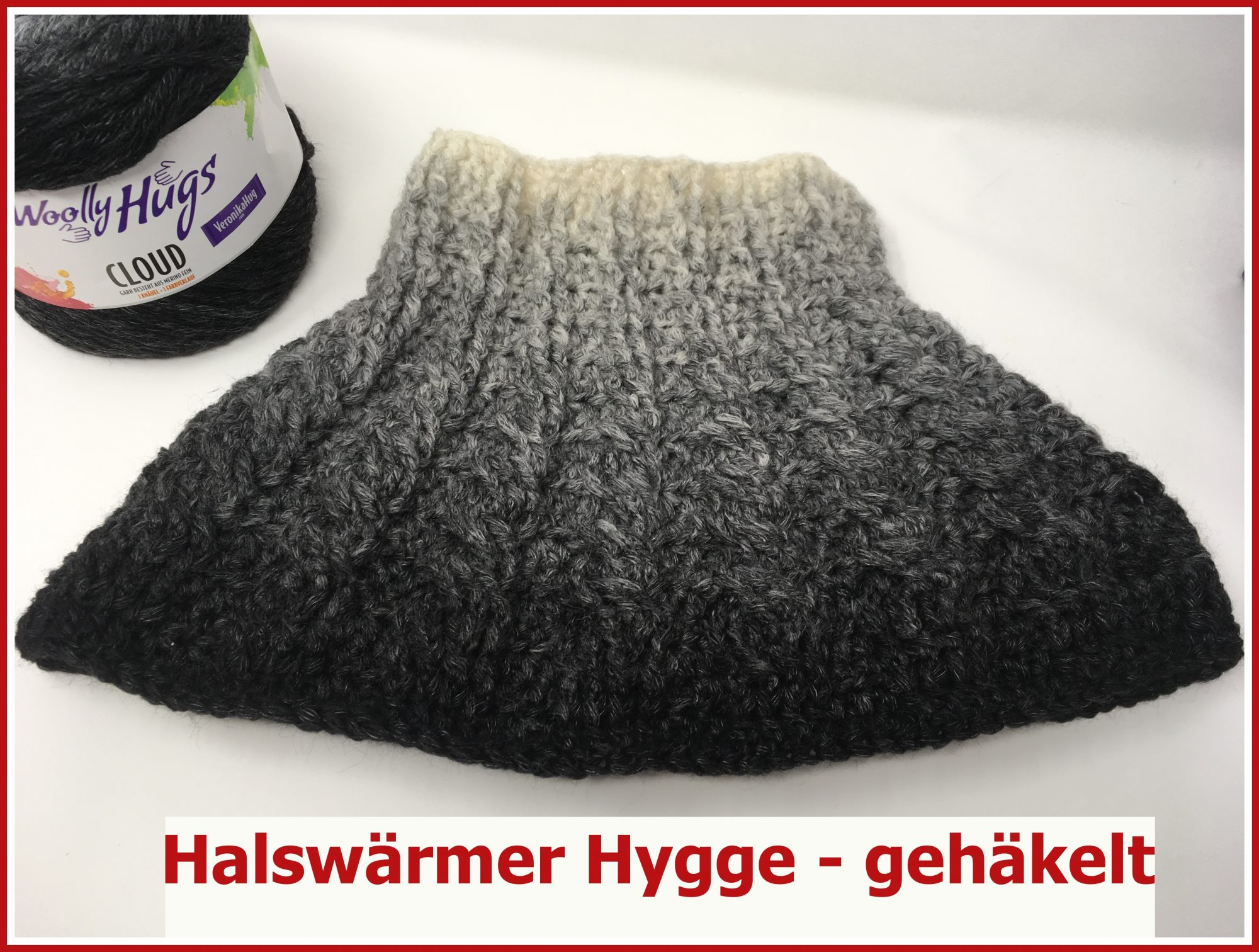 Veronika Hug Halswärmer Hygge Gehäkelt Woolly Hugs Cloud