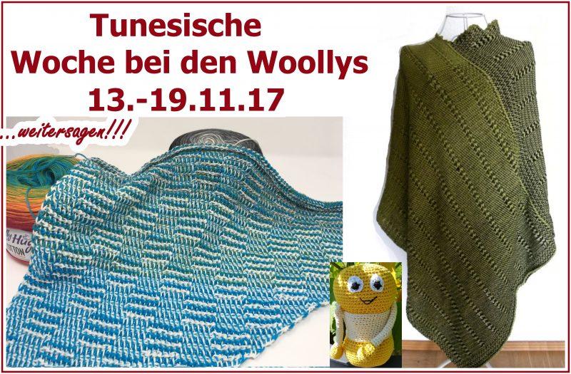 Tunesische Woche In Der Gruppe Woolly Hugs Veronika Hug