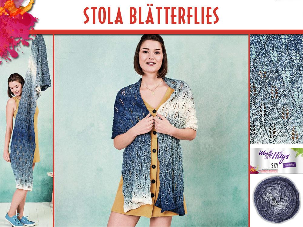 Stola Blaetterflies