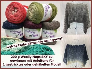 Facebook Gewinnspiel Woolly Hugs Sky