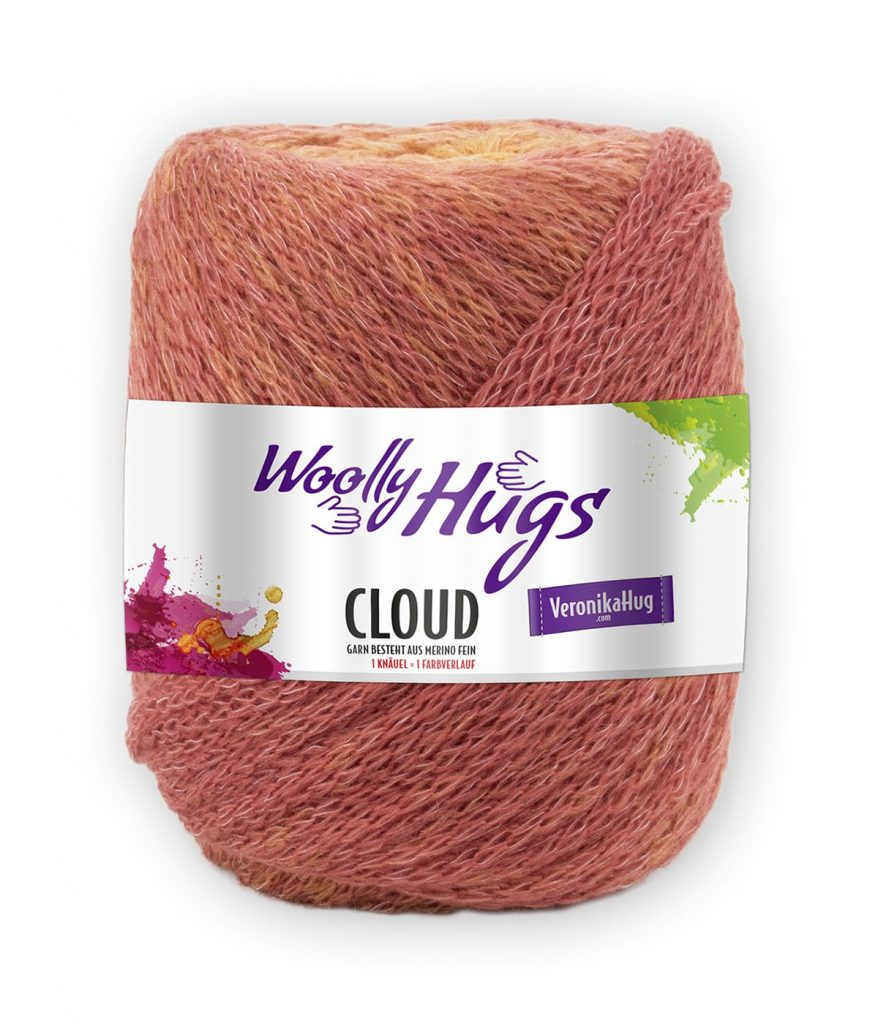 woolly hugs anleitungen cloud