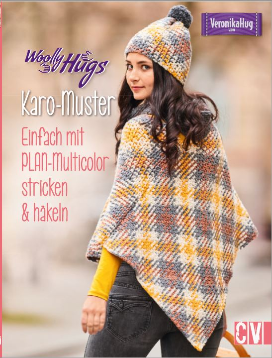 Woolly Hugs Karo Muster stricken Plan
