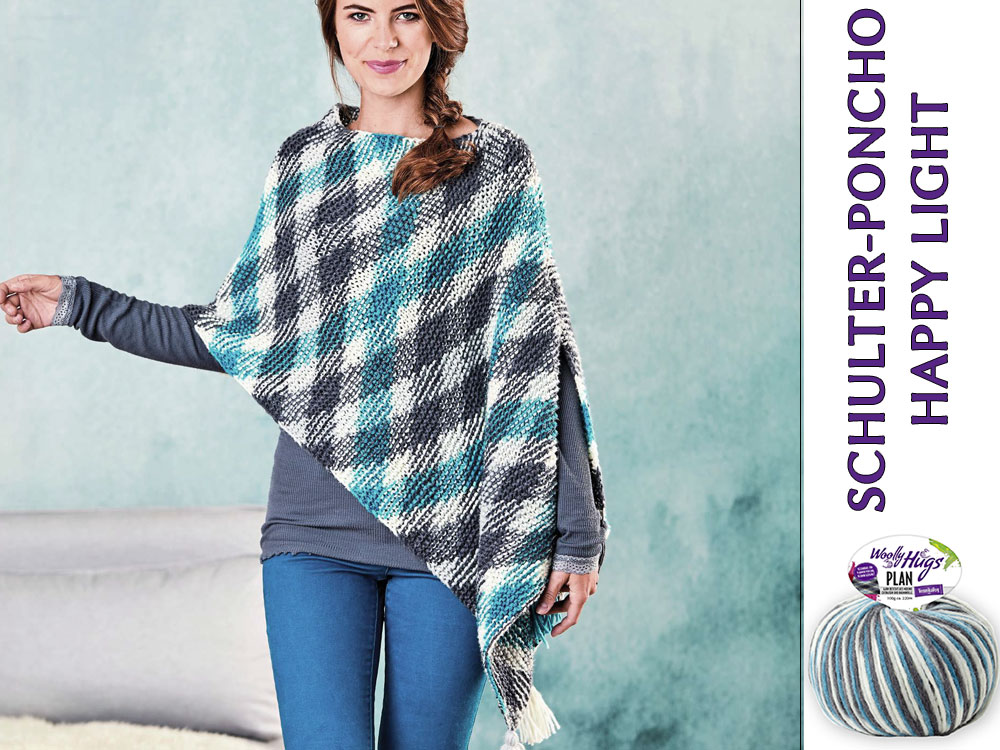 Schulterponcho Happylight