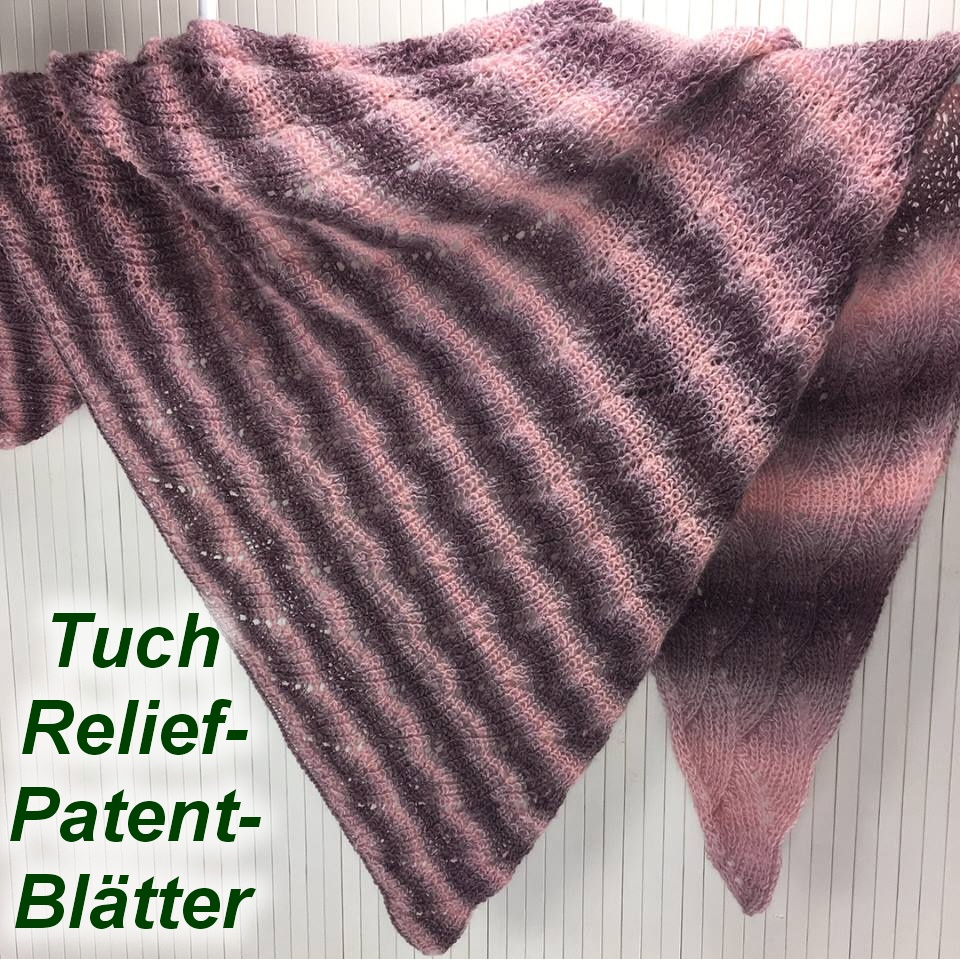Tuch Relief Patent mit Woolly Hugs Year Socks