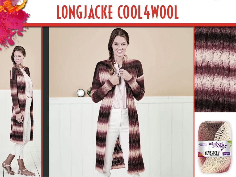 Longjacke Cool4wool