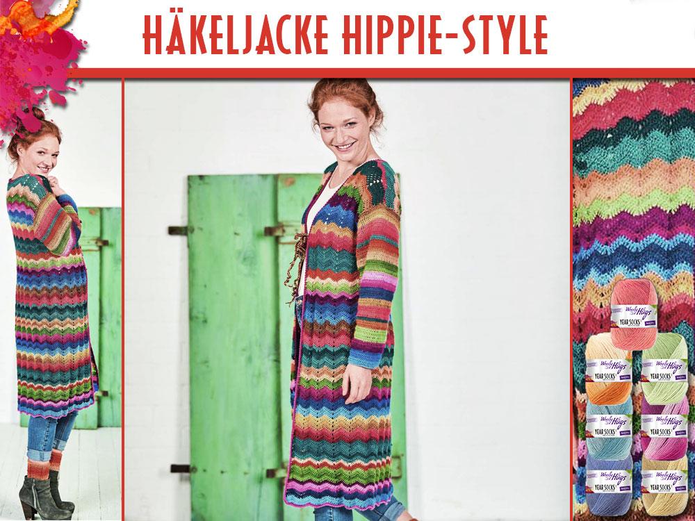 Jacke Hippie Stile