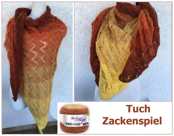 Tuch Zackenspiel Mit 1 Woolly Hugs Bobbel Mohair Stricken 572x450[1]