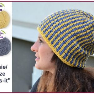 Muetze Beanie Thats It Aus Woolly Hugs Sheep Haekeln 626x450