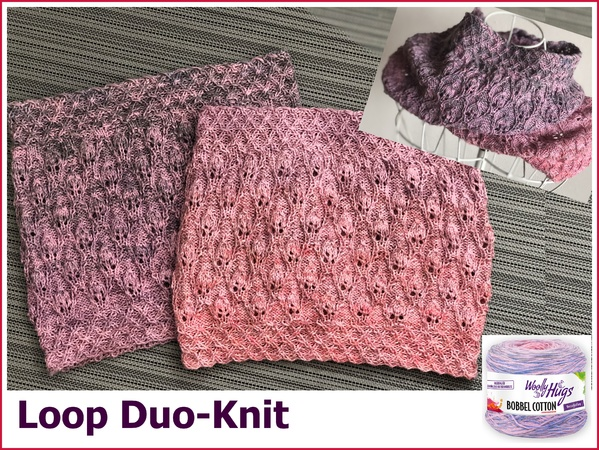 Loop Duo Knit Stricken 599x450