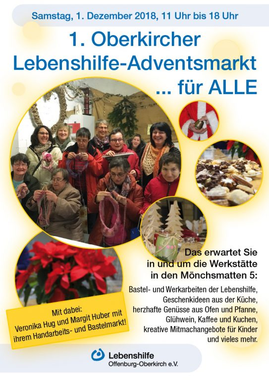 Plakat Adventsmarkt 2018 Web