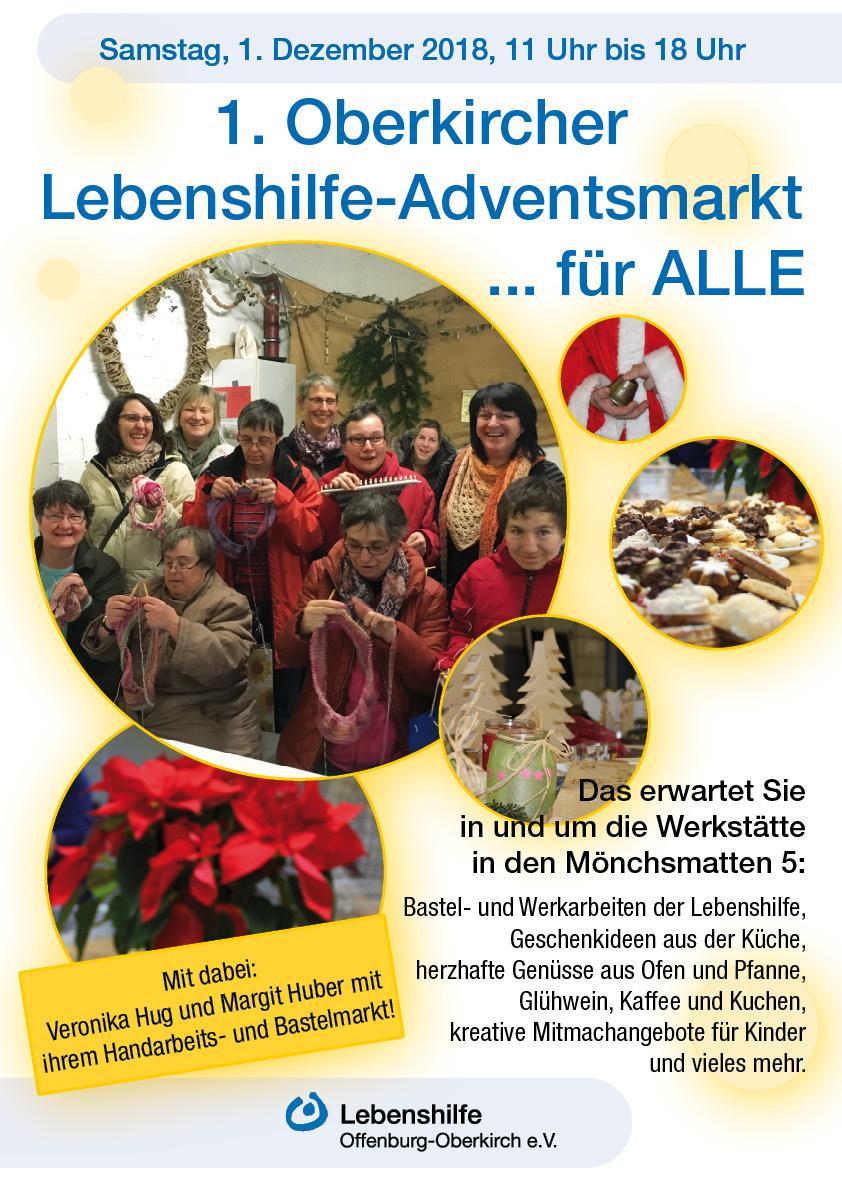 Plakat Adventsmarkt 2018 Web