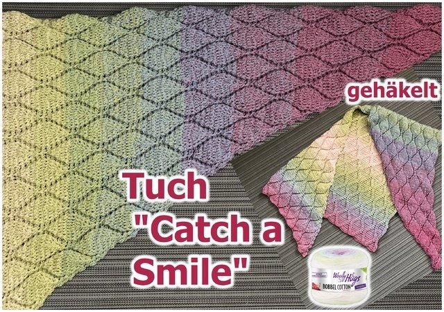 Tuch Catch A Smile Haekeln 640x450