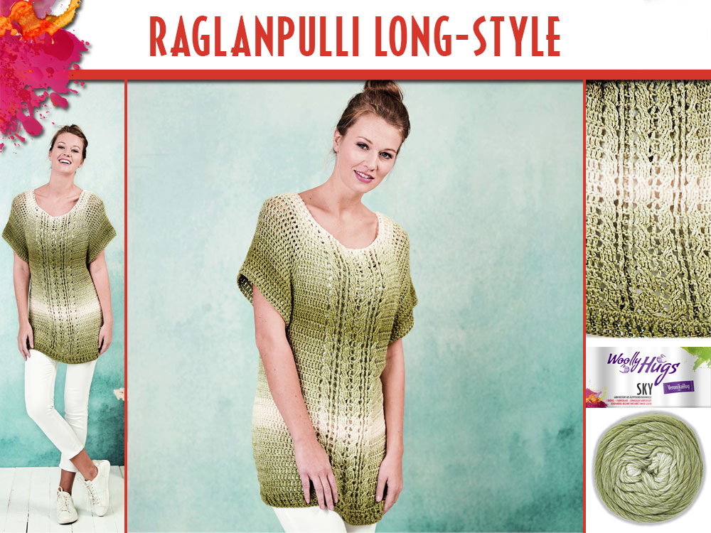 Raglanpulli Long Style