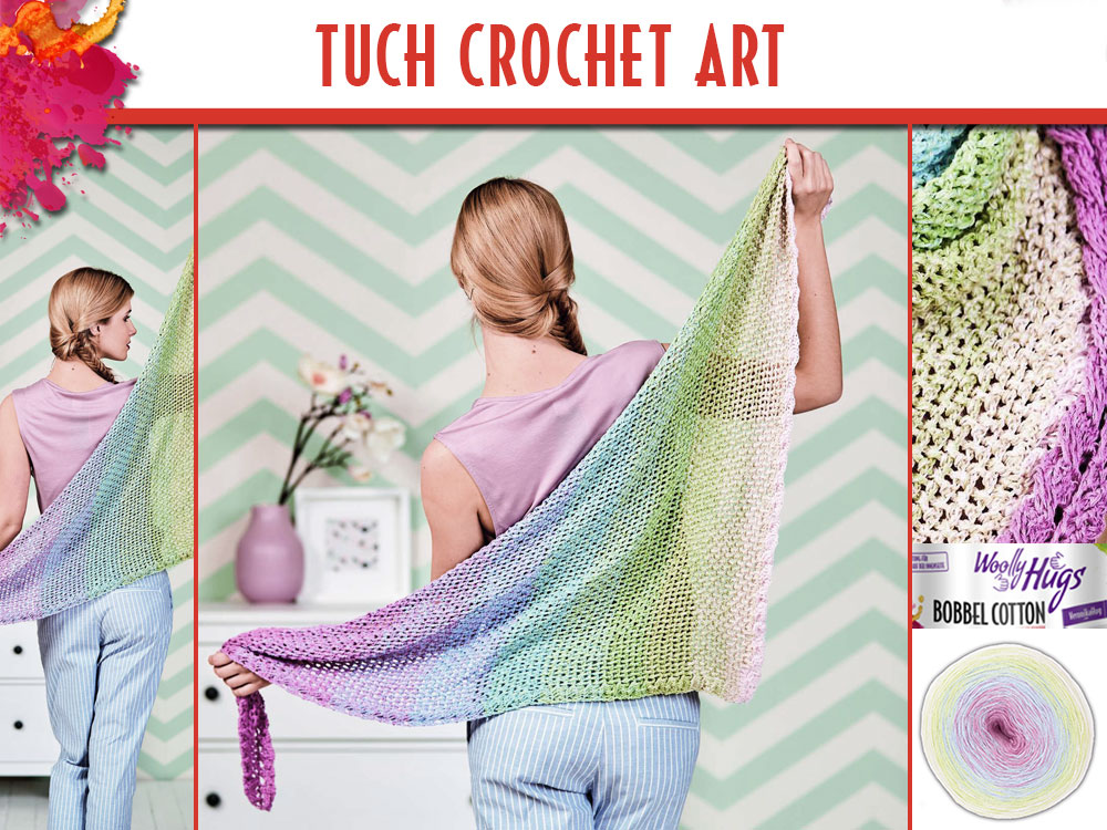 Tuch Crochet Art