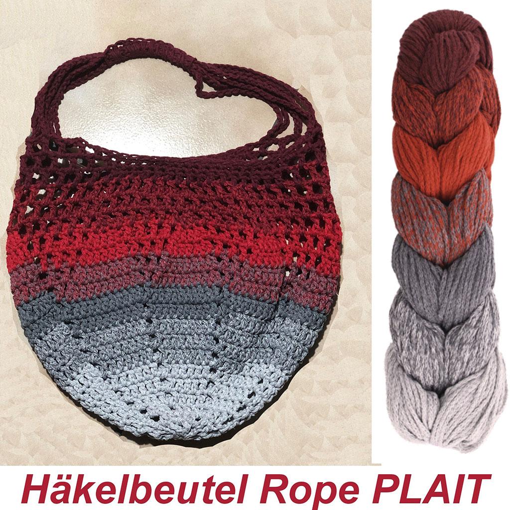 Haekelbeutel Rope Plait