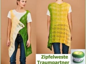 Zipfelweste Traumpartner Aus Bobbel Cotton Von Woolly Hugs Stricken 571x450