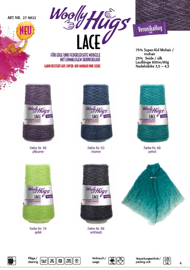 Farbkarte Lace