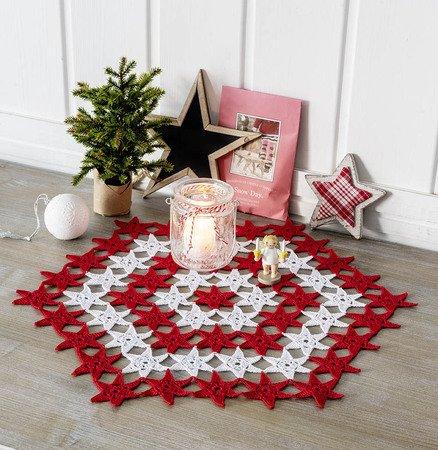 Weihnachts Deko Haekeln In Rot Weiss 3446995041 438x450
