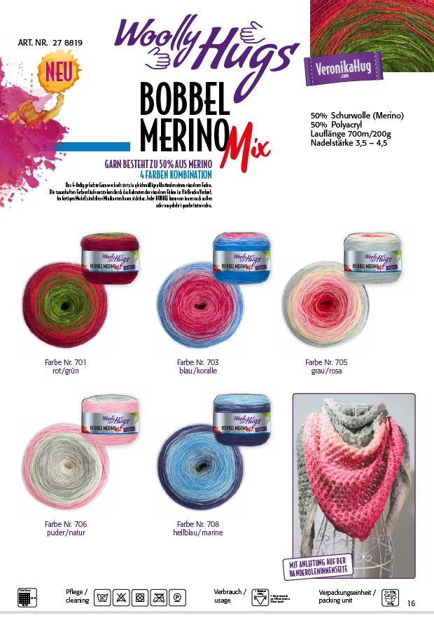 Bobbel Merino Mix
