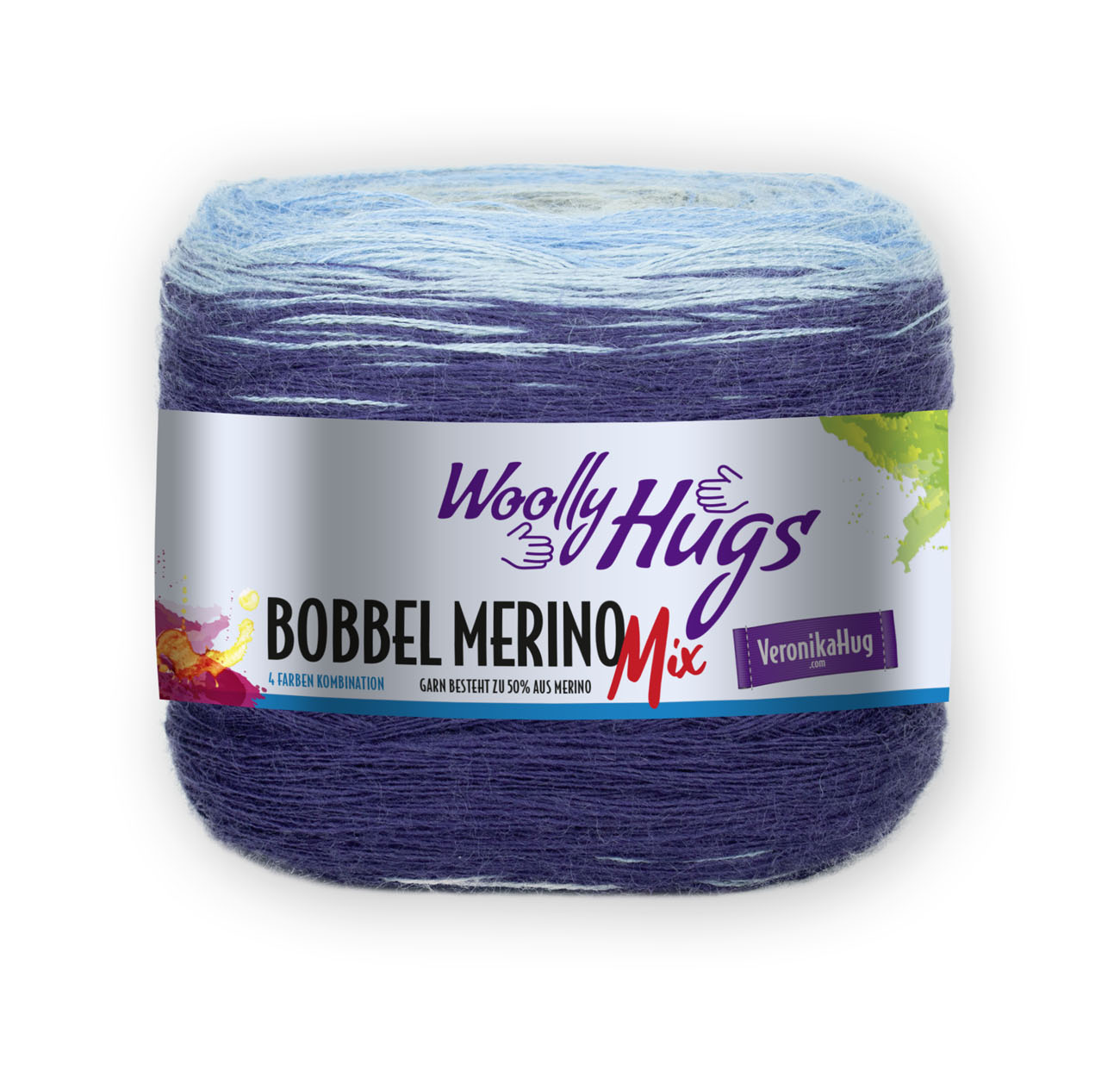 Woolly Hugs Bobbel Merinomix 708