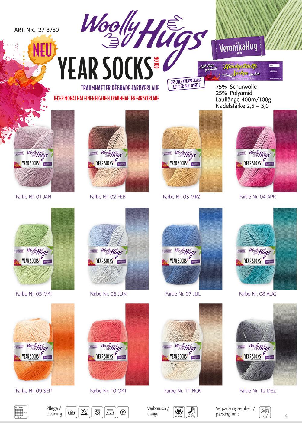 X Year Socks