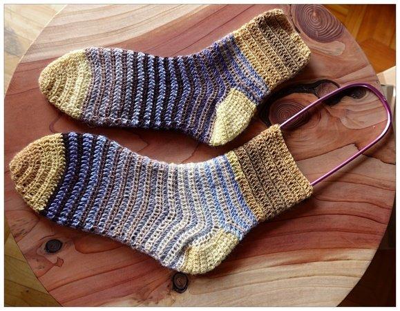 Socken Maeni Haekelsocken 579x450