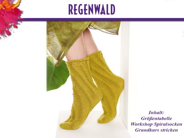 Socken Regenwald 600x450