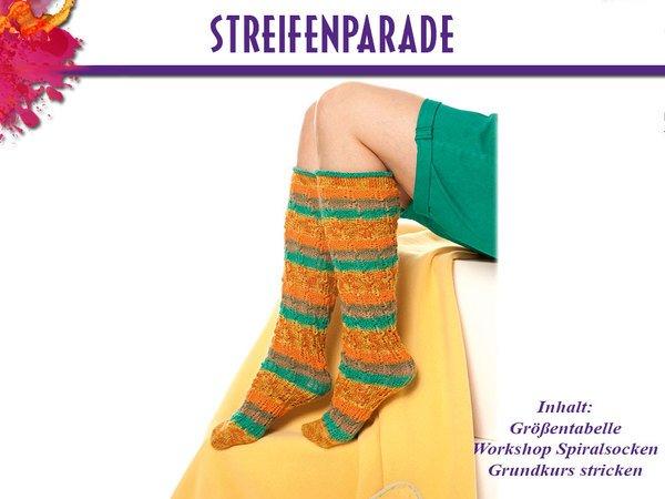 Socken Streifenparade 600x450