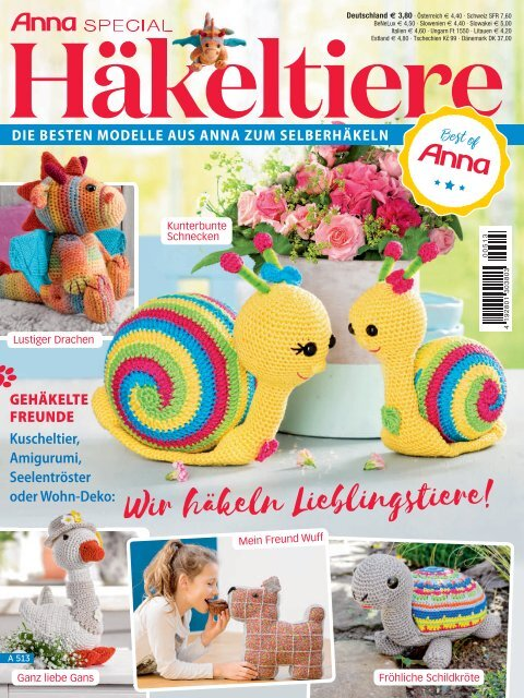 Zeitschrift Hakeltiere Auszug Aus Anna Special A513