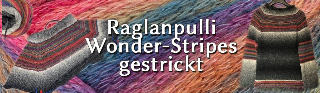 Raglanpulli Wonder Stripes